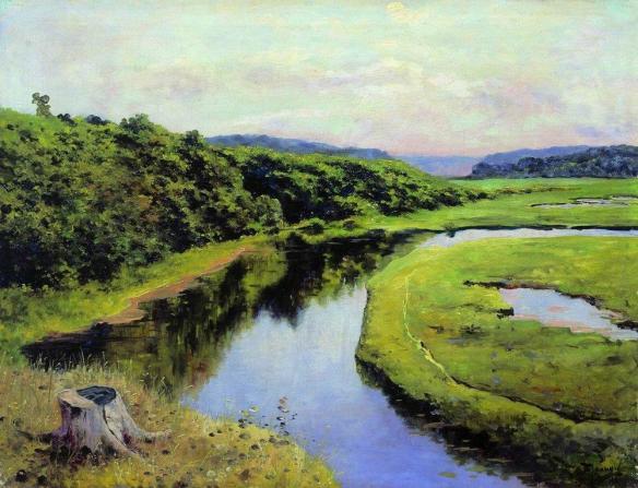 Klyazma River. Zhukovka (1888)