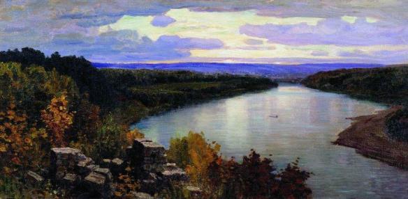 Oka, evening (1903)