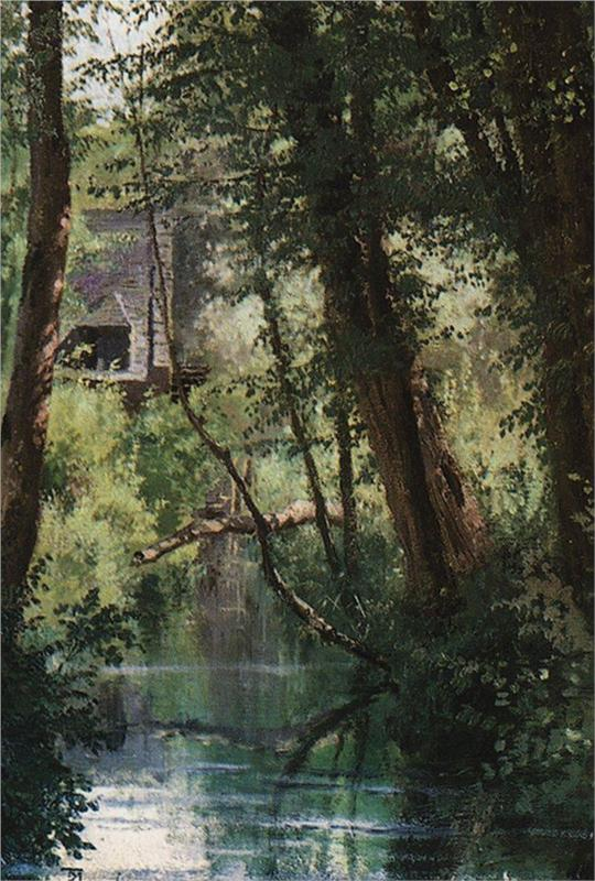 Pond at Wehle (1874)
