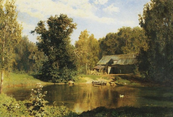 Pond at Abramtsvevo (1883)